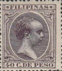 [King Alfonso XIII - New Colors & Values, type AE39]