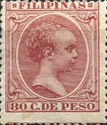 [King Alfonso XIII - New Colors & Values, type AE40]