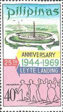 [The 25th Anniversary of U.S. Forces' Landing on Leyte, Typ AED3]
