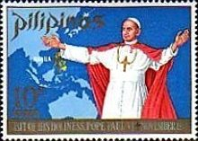 [Pope Paul's Visit to the Philippines, Typ AFH1]