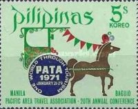 [The 20th PATA Conference and Workshop, Manila, Typ AFJ1]
