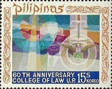 [The 60th Anniversary of Philippines College of Law, Typ AFY]