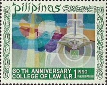 [The 60th Anniversary of Philippines College of Law, Typ AFZ]