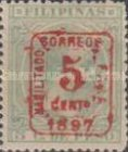 """[Previously Issued Stamps Overprinted """"HABILITADO PARA CORREOS"""" & Surcharged, type AG1]"""