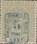 """[Previously Issued Stamps Overprinted """"HABILITADO PARA CORREOS"""" & Surcharged, type AG3]"""