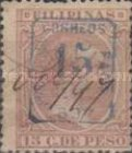 """[Previously Issued Stamps Overprinted """"HABILITADO PARA CORREOS"""" & Surcharged, type AG5]"""