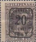 """[Previously Issued Stamps Overprinted """"HABILITADO PARA CORREOS"""" & Surcharged, type AG8]"""