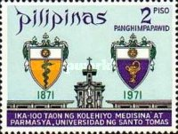 [The 100th Anniversary of Faculties of Medicine and Surgery, and of Pharmacy, Santo Tomas University, Typ AGB1]