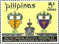 [The 100th Anniversary of Faculties of Medicine and Surgery, and of Pharmacy, Santo Tomas University, Typ AGB2]