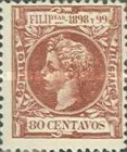 [King Alfonso XIII - New Design & Values, Typ AH17]