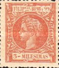 [King Alfonso XIII - New Design & Values, Typ AH2]