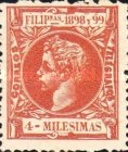 [King Alfonso XIII - New Design & Values, Typ AH3]
