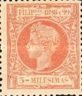 [King Alfonso XIII - New Design & Values, Typ AH4]