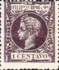 [King Alfonso XIII - New Design & Values, Typ AH5]