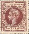 [King Alfonso XIII - New Design & Values, Typ AH7]