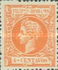 [King Alfonso XIII - New Design & Values, Typ AH8]