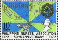 [The 50th Anniversary of Philippine Nurses Assocation, Typ AIB2]