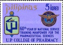 [The 60th Anniversary of National Training for Pharmaceutical Sciences, University of the Philippines, type AIO1]