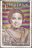 [The 75th Anniversary of the Birth of Josefa Llanes Escoda, 1898-1945, Typ AJA]