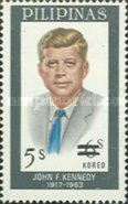 [The 10th Anniversary of the Death of John F. Kennedy - Issue of 1965 Surcharged 5s, Typ AJC]