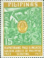 [The 50th Anniversary of Philippine Boy scouts, Typ AJL]