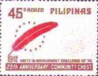 [The 25th Anniversary of Community Chest Movement in the Philippines, Typ AKB3]