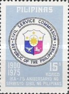 [The 75th Anniversary of Civil Service Commission, Typ AKX1]