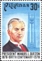 [The 100th Anniversary of Manuel L. Quezon (Former President), 1878-1944, Typ AMV1]