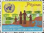 [The 30th Anniversary of Declaration of Human Rights, Typ ANH2]
