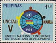 [The 5th U.N. Conference on Trade and Development, Manila, type AOB1]