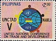 [The 5th U.N. Conference on Trade and Development, Manila, type AOB2]