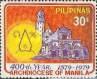 [The 400th Anniversary of Archdiocese of Manila, type AOQ1]