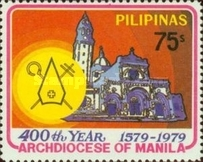 [The 400th Anniversary of Archdiocese of Manila, type AOQ2]