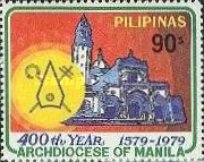 [The 400th Anniversary of Archdiocese of Manila, type AOQ3]