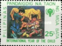 [International Year of the Child - Paintings by Rod Dayao, type APC]