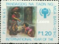[International Year of the Child - Paintings by Rod Dayao, Typ APD]