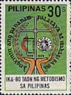 [The 80th Anniversary of Methodism in the Philippines, type APE]