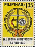 [The 80th Anniversary of Methodism in the Philippines, Typ APF]