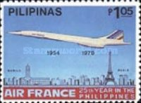 [The 25th Anniversary of Air France Service to the Philippines, Typ APH]