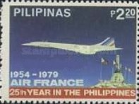 [The 25th Anniversary of Air France Service to the Philippines, Typ API]