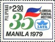 [The 35th Annual General Meeting of International Air Transport Association, Manila, type APK2]