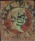 [Spanish West Indies No. 2 & 3 - Issued in Cuba & Puerto Rico Also. Must be Cancelled Locally, type D1]