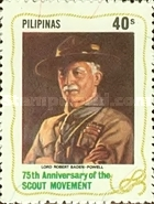 [The 75th Anniversary of Boy Scout Movement, Typ EBO]