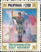 [The 75th Anniversary of Boy Scout Movement, Typ EBP]