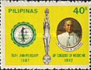 [The 75th Anniversary of College of Medicine, University of the Philippines, Typ ECH]