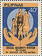 [The 25th Anniversary of Social Security System, Typ ECM1]