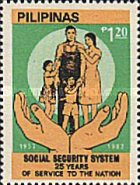 [The 25th Anniversary of Social Security System, Typ ECM2]