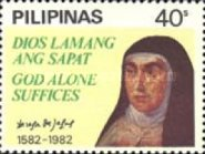 [The 400th Anniversary of the Death of St. Theresa of Avila, 1515-1582, Typ ECO]