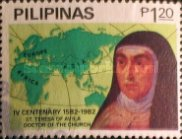 [The 400th Anniversary of the Death of St. Theresa of Avila, 1515-1582, Typ ECP]