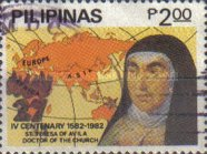 [The 400th Anniversary of the Death of St. Theresa of Avila, 1515-1582, Typ ECQ]